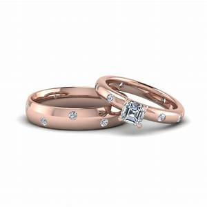 Couple wedding rings his and hers matching sets for Wedding rings his and hers sets