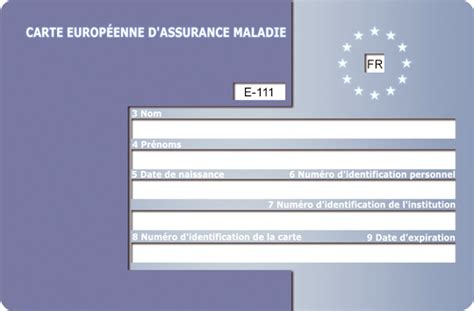 bureau carte assurance maladie carte européenne d 39 assurance maladie ceam pratique fr