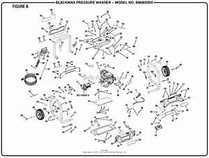 Homelite Bm80320x Pressure Washer Mfg No  090079296 Parts
