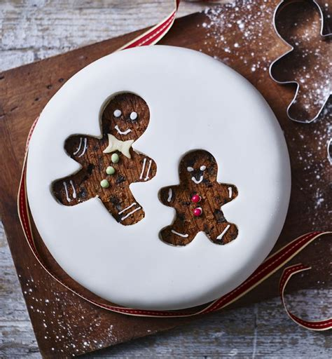 gingerbread man christmas cake recipe cookie cutters