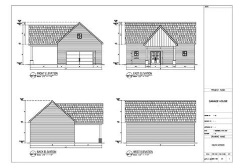 draw elevation architectural drawing  autocad