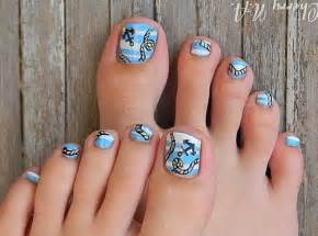 Toe nail designs art and design