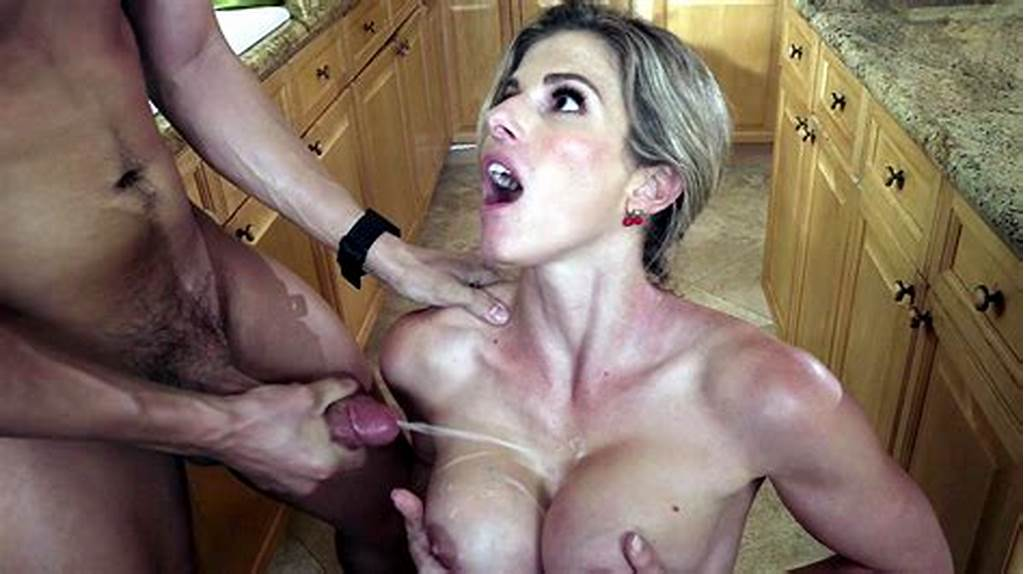 #Busty #Hot #Mom #Cory #Chase #Cumshot #On #Her #Big #Tits