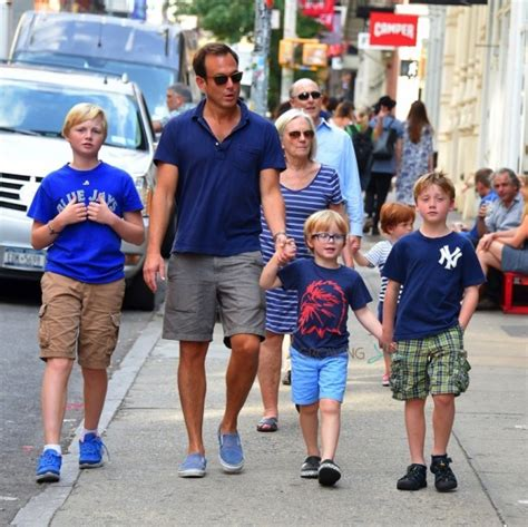 baby sleeper bed will arnett steps out in nyc with his boys