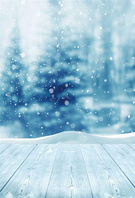 Glitter Snowflake Background by Season Backdrop Winter Background Snowflake Backdrop Blue