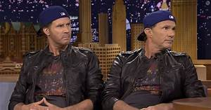 Watch Chad Smith Will Ferrells Drum Off Red Hot Chili