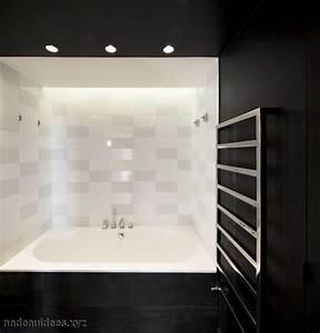 idee deco salle de bain noir et blanc ides With carrelage noir et blanc salle de bain