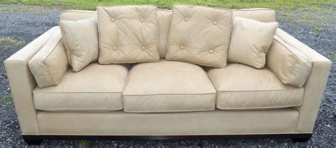 Baker Leather Sofa by Baker Leather Sofa