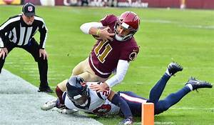 Texans Edge Redskins, QB Smith Exits with Gruesome Leg ...