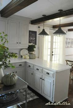 lighting in the kitchen ideas 33 quot polished granite 60 40 offset bowl farmhouse 9013