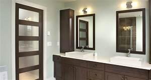 salle de bain id es d co portes milette doors con modele With porte vitree pour salle de bain