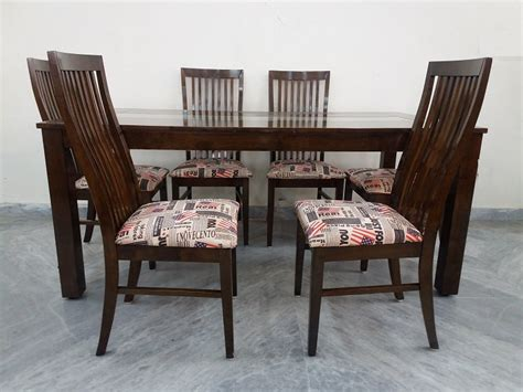 teak wood dining table 6 chair used furniture for sale
