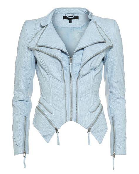 light blue leather jacket womens forever unique light blue 39 pulp 39 faux leather jacket