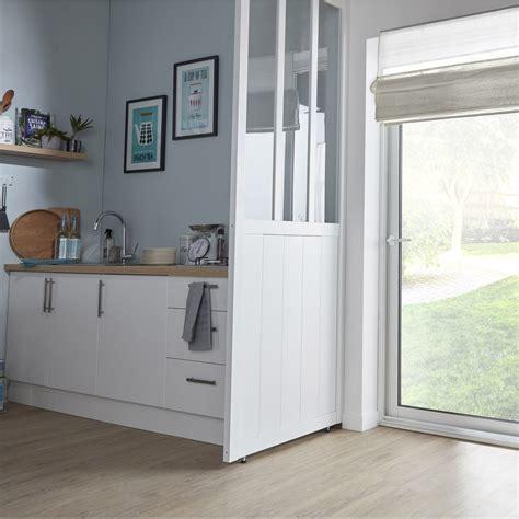 cloison amovible cuisine cloison amovible atelier blanc h 240 x l 80 cm leroy merlin
