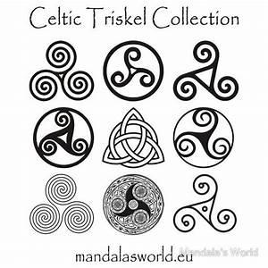 Symboles De Protection Celtique : celtic triskell collection dark sticker by jorge ruiz des id es pour celles et ceux qui ont ~ Dode.kayakingforconservation.com Idées de Décoration