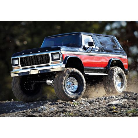 Traxxas Ford Bronco by Traxxas Trx 4 Ford Bronco Ranger Xlt 1 10 Electric 4wd