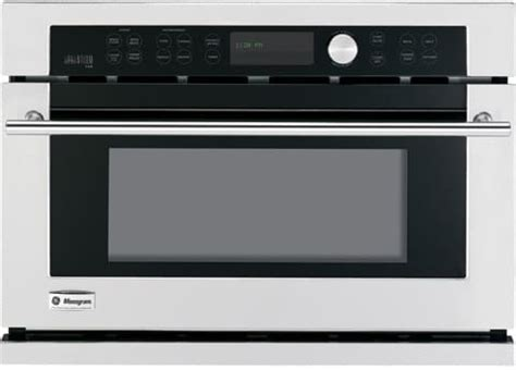 monogram zsckss   single electric advantium wall oven   cu ft european