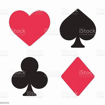 Playing Cards Card Symbols Clip Clipart Heart