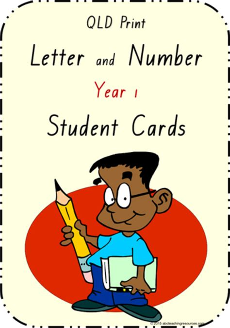 year  handwriting letter formation table cards qld