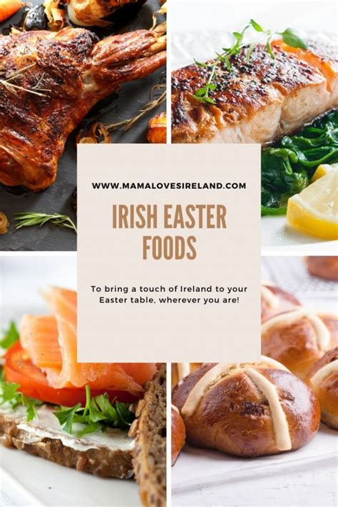 Patrick's day, easter is the most important from dinner to dessert to the special irish bread in hot cross buns, the traditional irish easter celebration is full of great recipes and fantastic easter food. Irish Easter food to bring a taste of Ireland to your Easter table! - Mama Loves Ireland