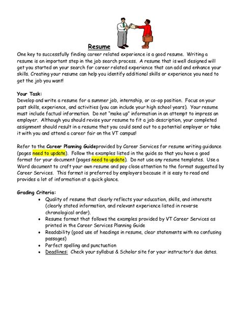 Steps On Writing A Resume by Resume