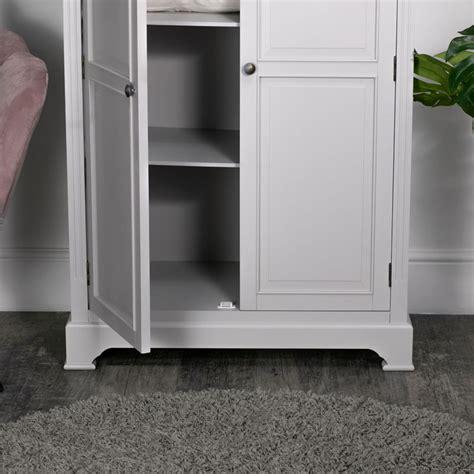 Low Wardrobe Closet by Large Linen Closet Low Wardrobe Daventry Dove Grey Range