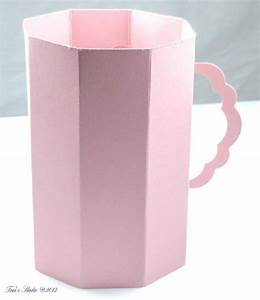Decorative Cup With Wpc Cutting File And Manual