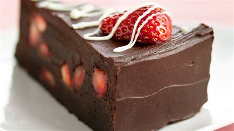 Fudge Lover's Strawberry Truffle Cake Recipe