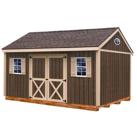 Home Depot Storage Sheds Wood by Best Barns Brookfield 16 Ft X 12 Ft Wood Storage Shed