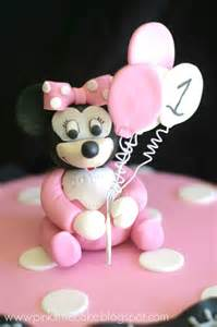 Baby Minnie Mouse 1st Birthday Cake