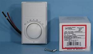 New     Marley M601w Line Voltage Thermostat M601