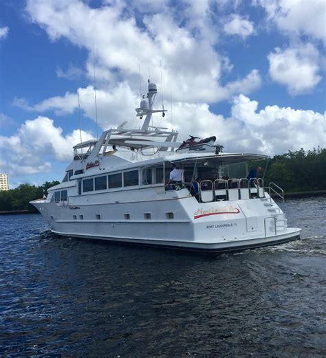 Boat Transport Ft Lauderdale by 1990 Broward Motor Yacht Power Boat For Sale Www