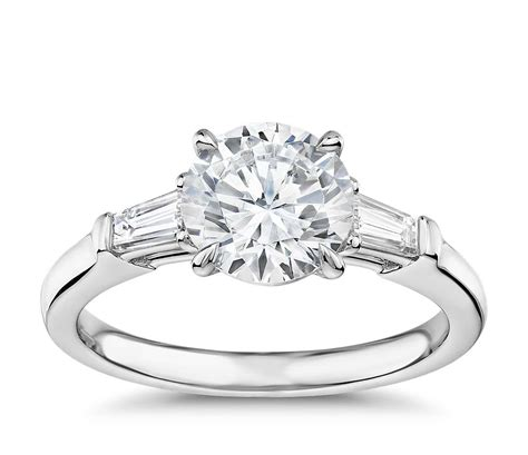 gallery collection tapered baguette diamond