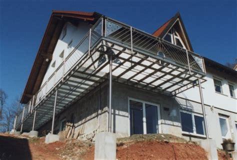 Balkon Nachträglich Bauen by Gelander Balkongelander In Edelstahl Am Aussenbalkon Der