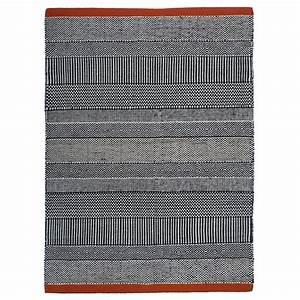 Tapis Noir Et Rouge : tapis triptik noir et rouge ~ Dallasstarsshop.com Idées de Décoration