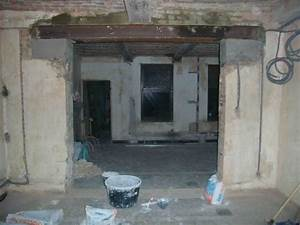 abattre ou ouvrir un mur porteur pole travaux With creer une porte dans un mur porteur
