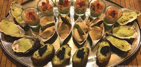 application cuisine apéritif dînatoire de la mer