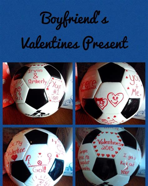 perfect gift   soccer player bf pinterest