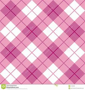Image Gallery pink plaid