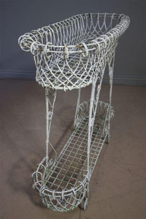Victorian Antique Wire Work Plant Stand   109462