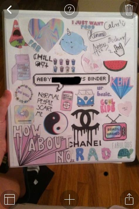 literally  cutest awesomest binder