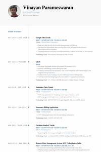 google resume samples visualcv resume samples database With google resume format