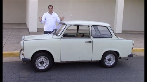 The Trabant Was an Awful Car Made By Communists - YouTube
