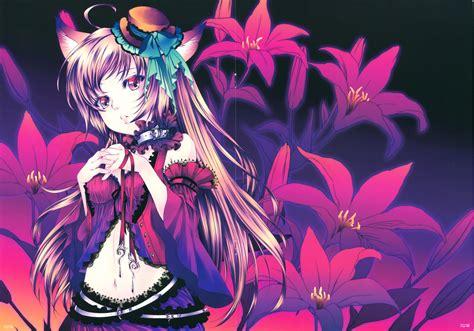 Anime Flower Wallpaper - flower hd wallpaper and background image