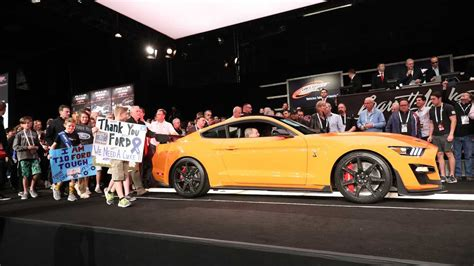 ford mustang shelby gt auctioned