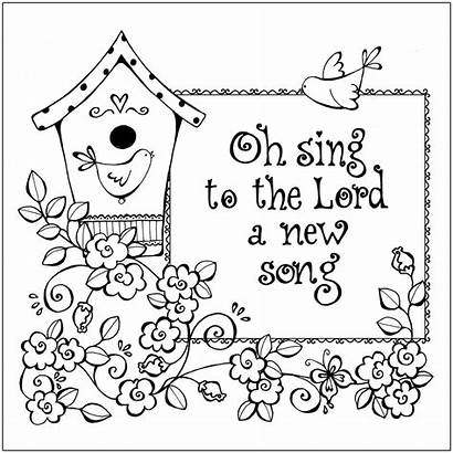 Coloring Christian Printable Pages Bible Religious Sheets