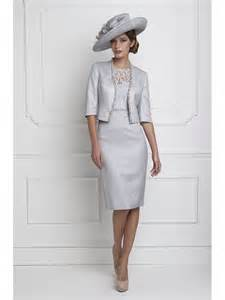 guest of a wedding dresses charles 25620 lace dress with sleeve and jacket silver