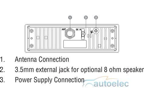 wiring diagram uhf radio oricom uhf400r heavy duty 12v 24v 5 watt 80 channel uhf cb
