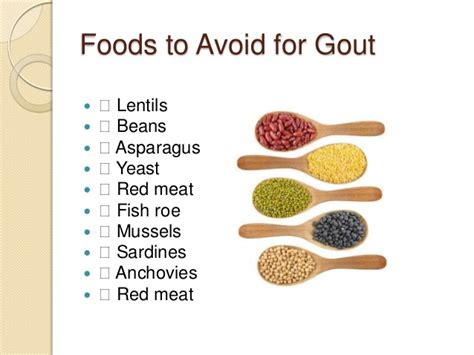 gout avoid foods list remedy alternative uric acid diet sufferers cause acidic body cure painful remedies lentils yeast