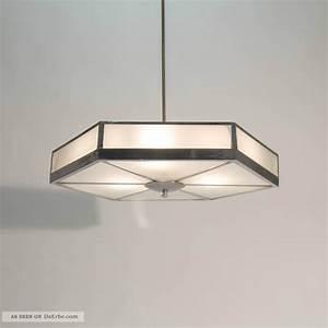 Art Deco Deckenleuchte : gro e art deco bauhaus hexagon deckenleuchte lampe aus den 30er jahren ~ Sanjose-hotels-ca.com Haus und Dekorationen